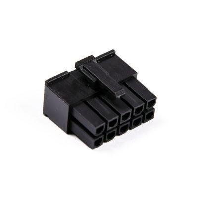 Connecteur Femelle 10 pins broches ATX - Noir
