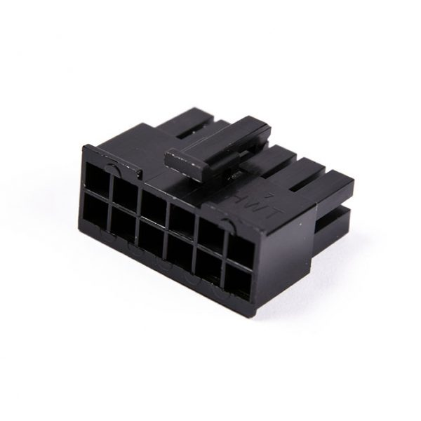 Connecteur Femelle 12 pins broches ATX - Noir (2)