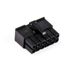 Connecteur Femelle 12 pins broches ATX - Noir
