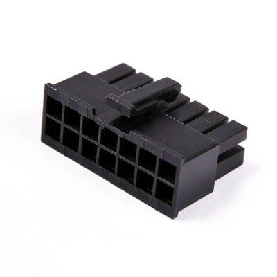 Connecteur Femelle 14 pins broches ATX - Noir (2)