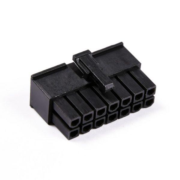 Connecteur Femelle 14 pins broches ATX - Noir