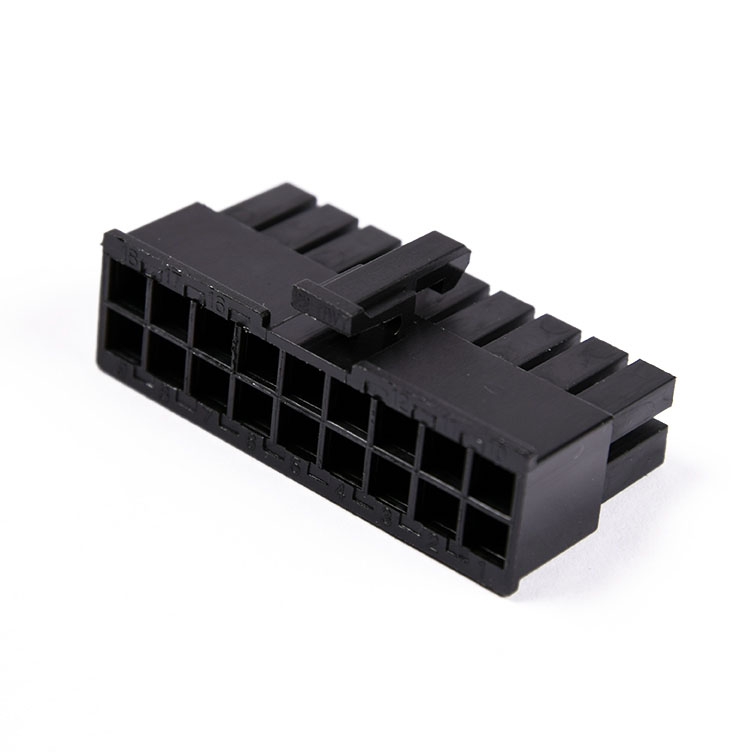 Connecteur Femelle 18 pins broches ATX - Noir