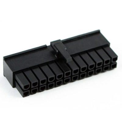 Connecteur Femelle 24 pins broches ATX - Noir