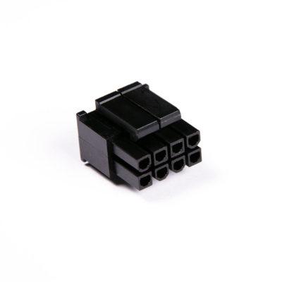 Connecteur Femelle 4+4 pins broches EPS - Noir (2)