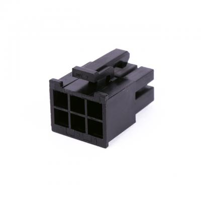 Connecteur Femelle 6 pins broches AUX - Noir (2)
