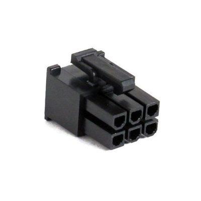 Connecteur Femelle 6 pins broches PCIE - Noir