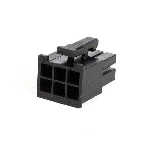 Connecteur Femelle 6 pins broches PCIE - Noir (2)