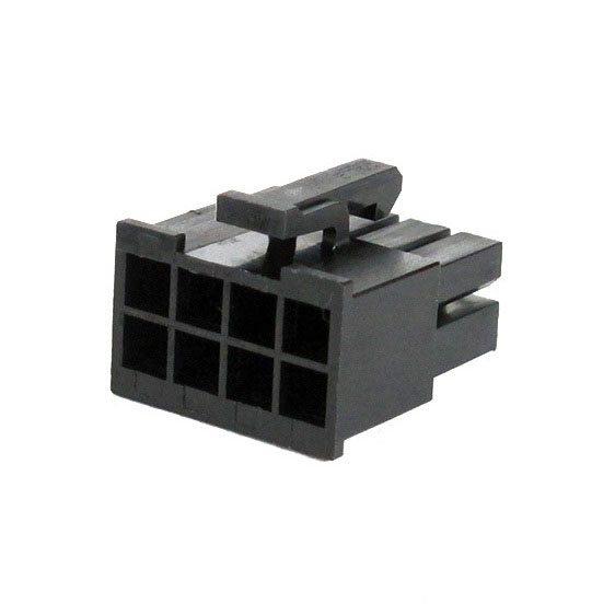 Connecteur Femelle 8 pins broches EPS - Noir (2)