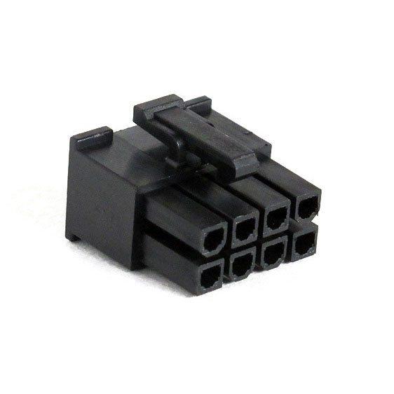 Connecteur Femelle 8 pins broches EPS - Noir