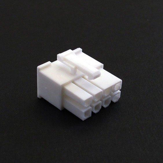 Connecteur Femelle 8 pins broches PCIE - Blanc