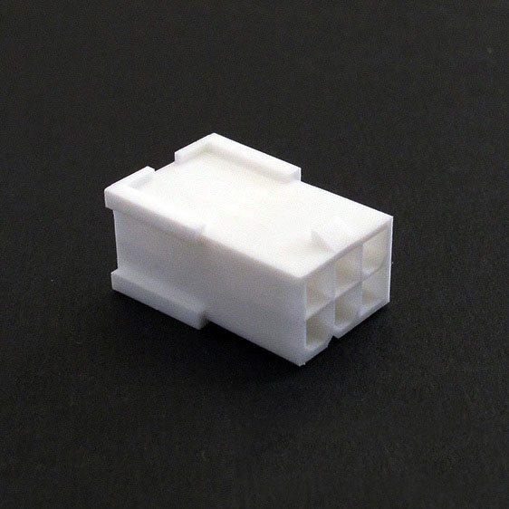 Connecteur Mâle 6 pins broches PCIE - Blanc