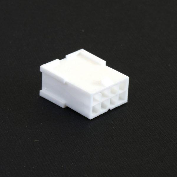 Connecteur Mâle 8 pins broches PCIE - Blanc