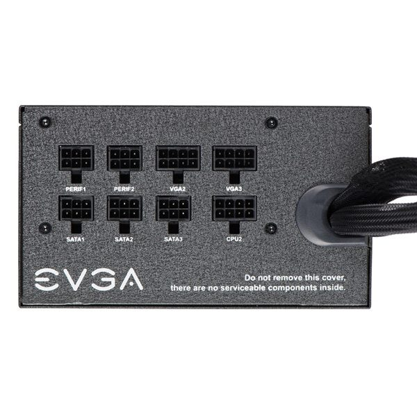 EVGA 750 BQ Alimentation 750W 80+ BRONZE Semi-Modulaire - Photo 3
