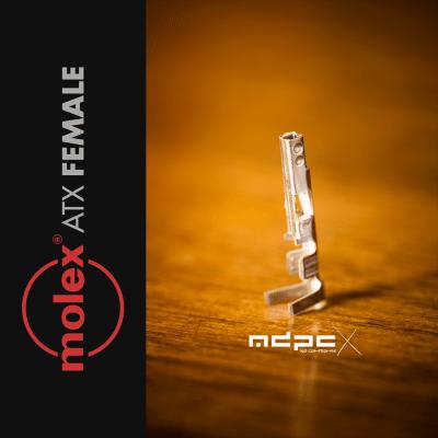 MDPC-X Contacteur-Pins ATX Femelle (MOLEX)