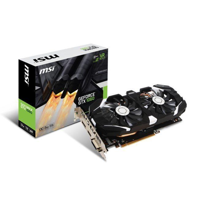 MSI GeForce GTX 1060 3GT OC – 3 Go