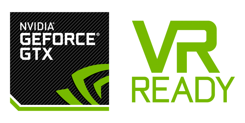 NVIDIA GE FORCE GTX VR READY
