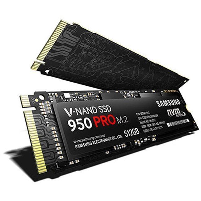 Image SSD SamsungSerie 950 PRO M.2 - 512 Go