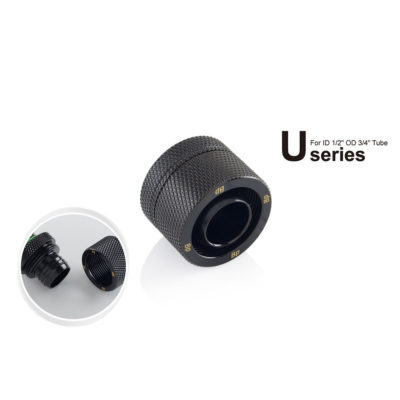 Bitspower CC5 Ultimate 13/19mm - Matt Black