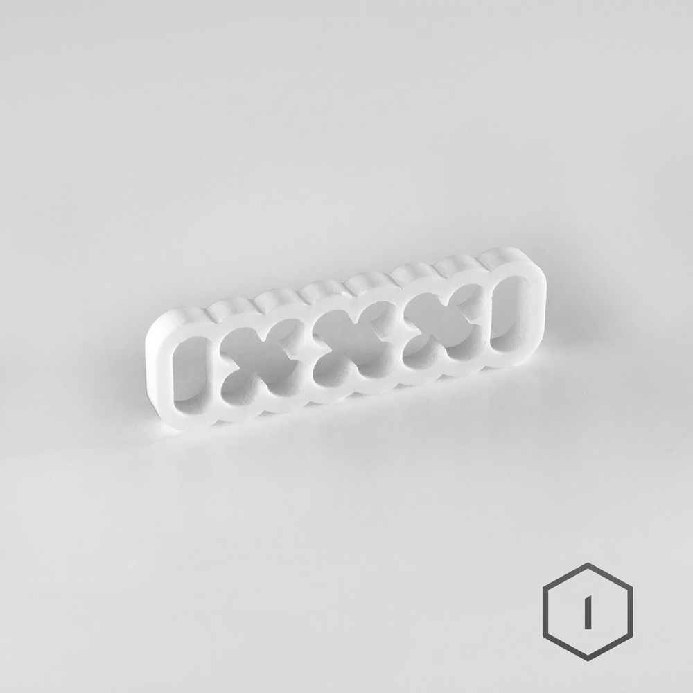 Cable Comb Blanc 16 Pins