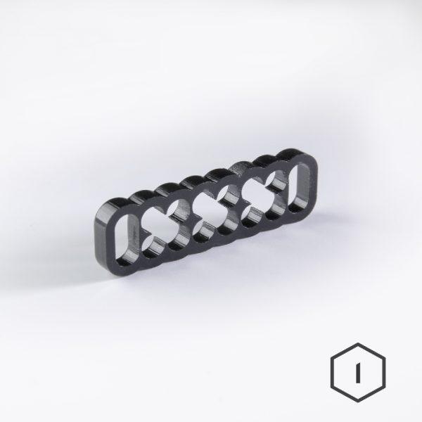 Cable Comb Noir 16 Pins