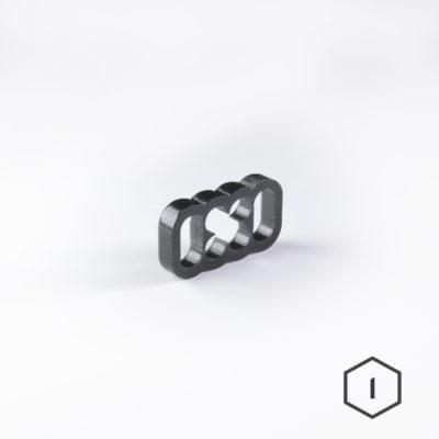 Cable Comb Noir 8 Pins