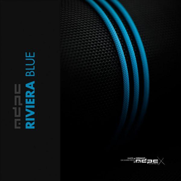 Gaine de câble MDPC-X SMALL XTC Riviera Blue