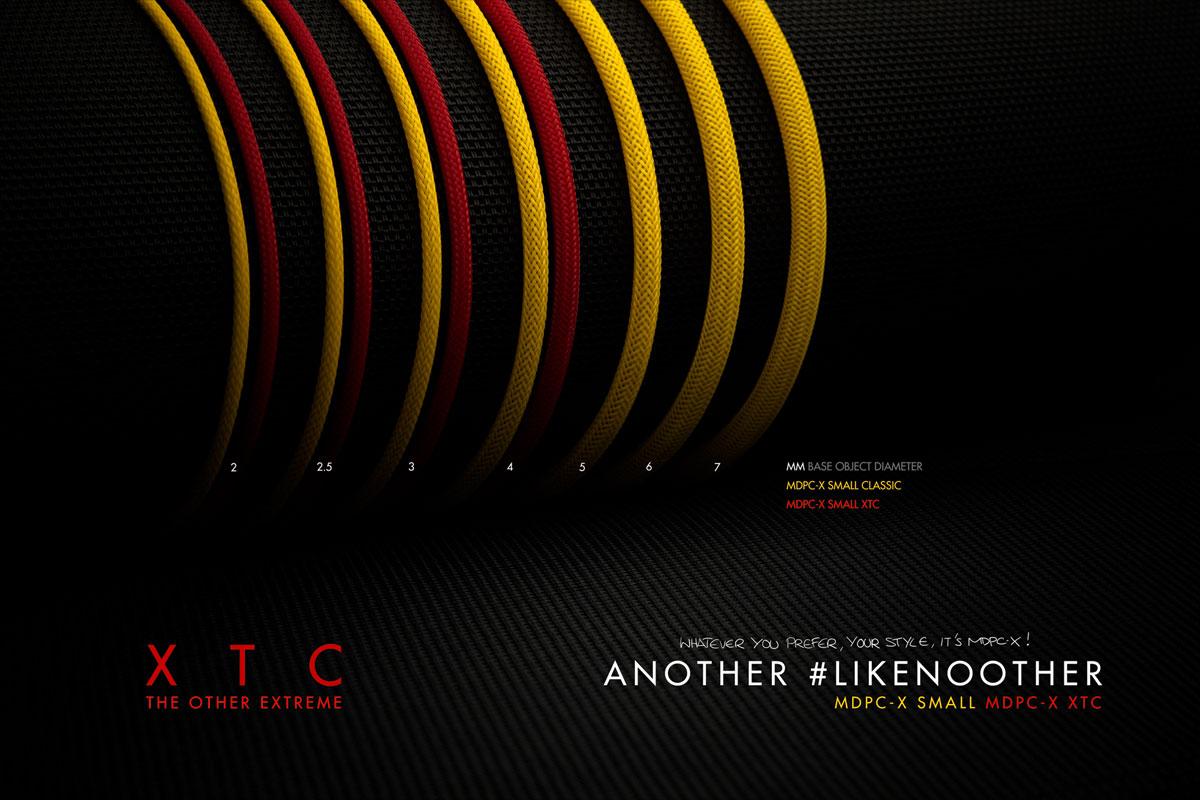 Gaines de câble MDPC-X Small XTC