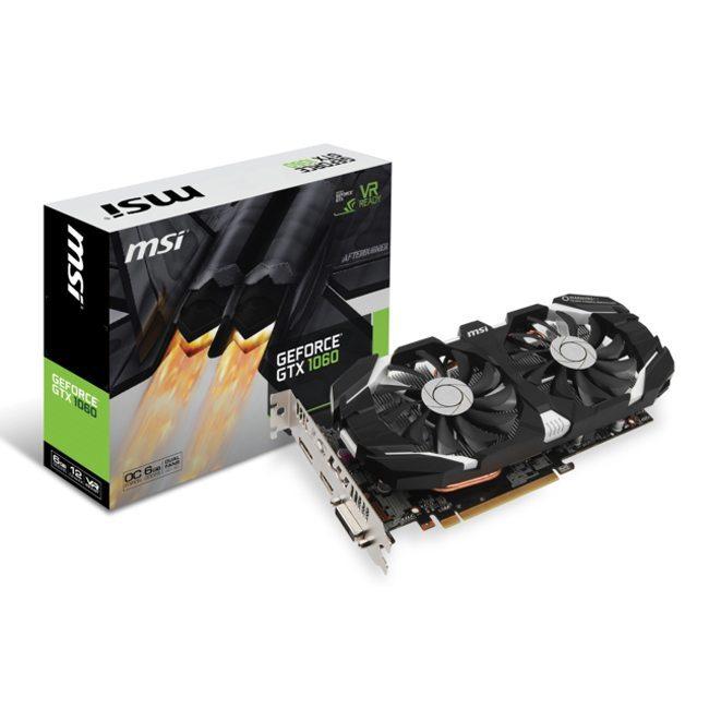 Image MSI GeForce GTX 1060 6GT OC