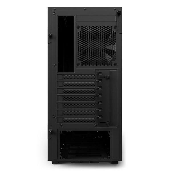 NZXT H500 Noir - Arrière