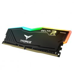 Team Group T-Force DELTA RGB DDR4 16 Go (2 x 8 Go) 2666 Mhz - Noir