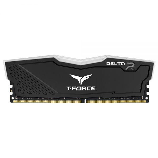 Team Group T-Force DELTA RGB DDR4 16 Go (2 x 8 Go) 2666 Mhz - Noir