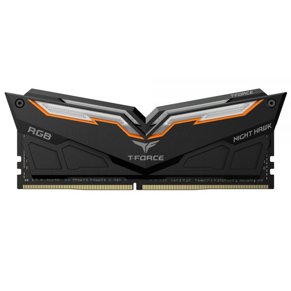 Team Group T-Force Night Hawk RGB DDR4 16 Go (2 x 8 Go) 3200 Mhz - Noir